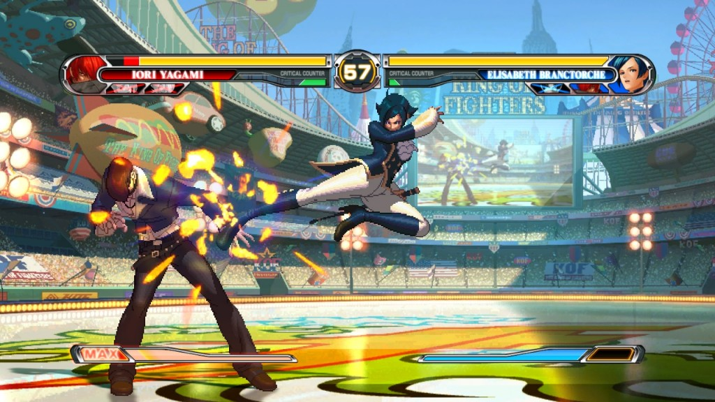 KOF XII is a beauitful game... too bad it has so many problems.
