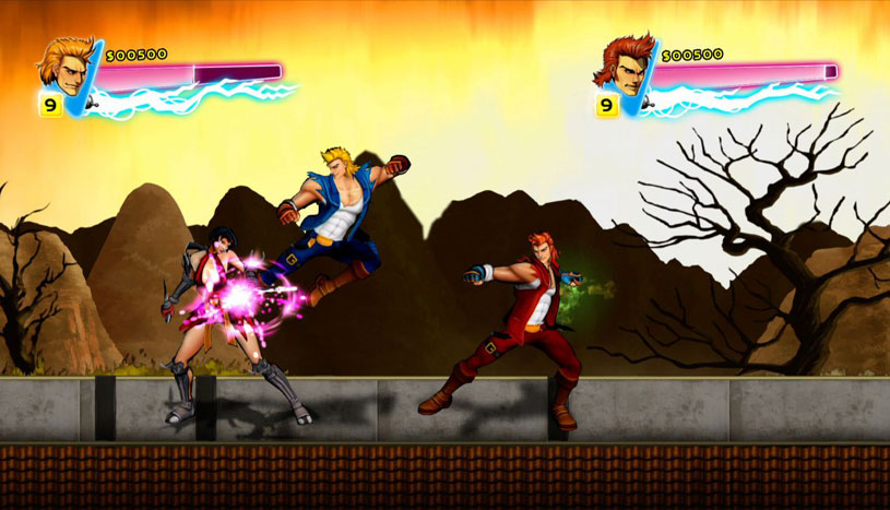 Double Dragon Neon Review Playstation 3 Pixel Perfect Gaming