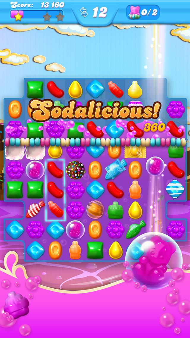 Candy crush soda saga makes a splash with worldwide mobile for Candy crush fish