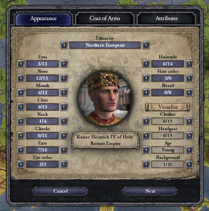 Crusader Kings II: Ruler Designer DLC Announced « Pixel Perfect Gaming