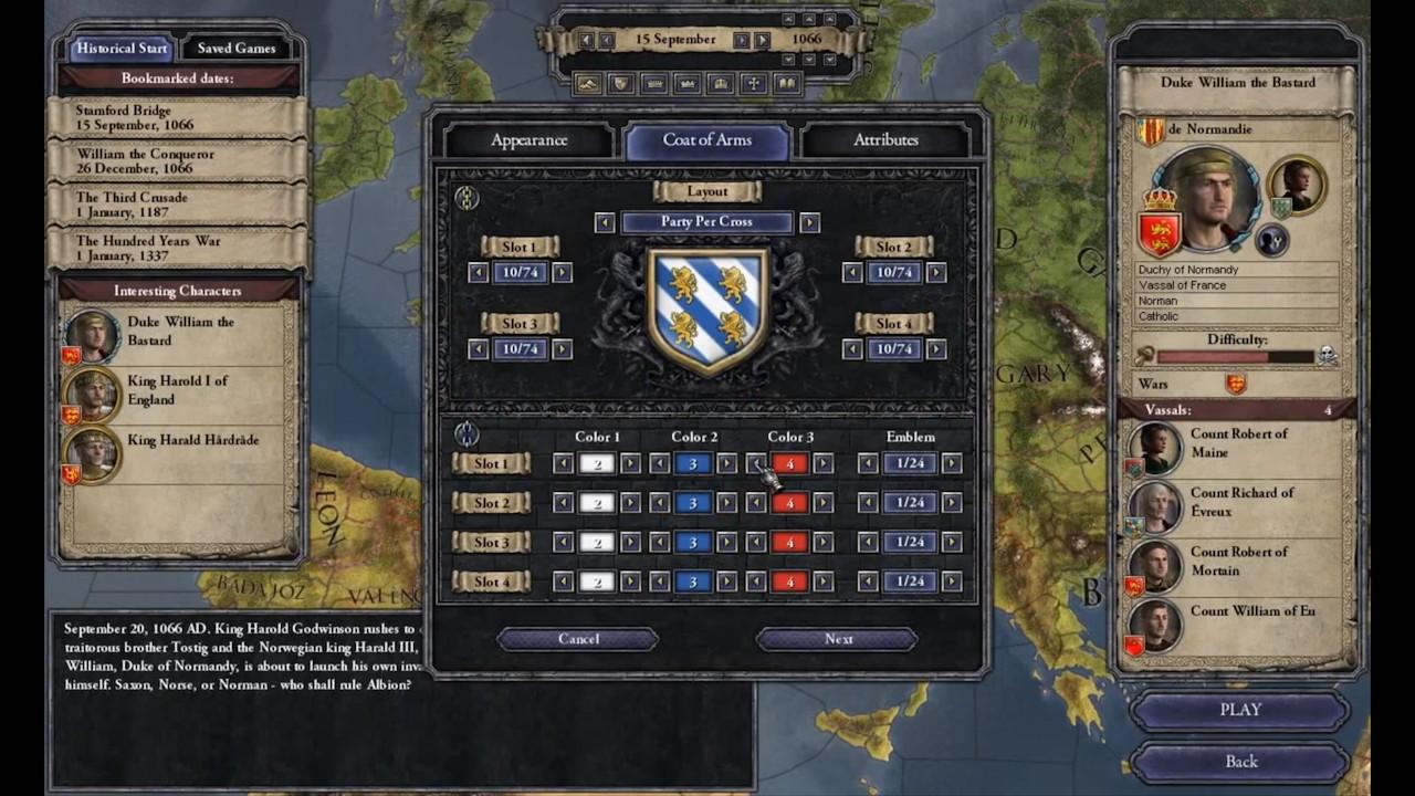 Crusader Kings II: Ruler Designer – Receives New Content « Pixel