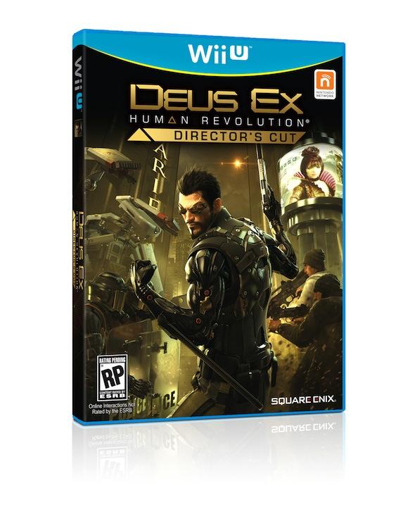 1. Обложка торрента Deus Ex Human Revolution Director's Cut (Square En