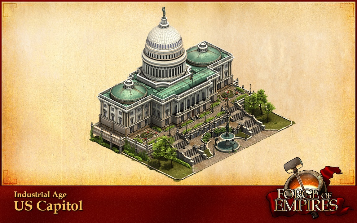 Forge of empires industrial age buildings in washington