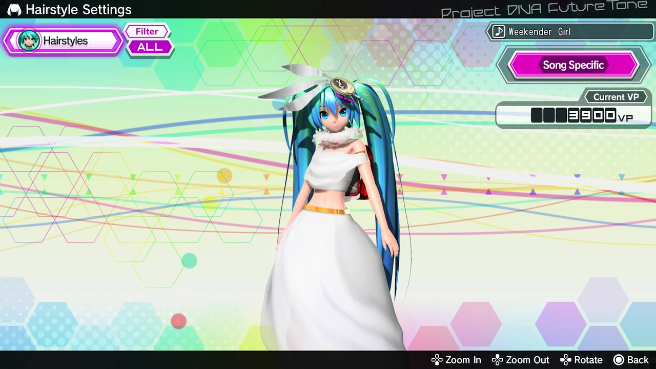 Hatsune miku project diva future tone the 2nd dlc pack now available pixel perfect gaming - Hatsune miku project diva future ...