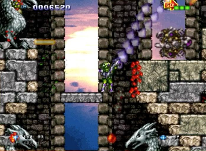 Neo-Geo AES / Dreamcast GunLord Screenshots: