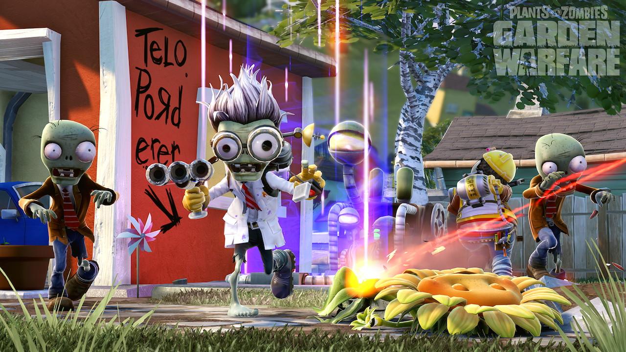 Plants Vs Zombies Garden Warfare New Screenshots Pixel Perfect