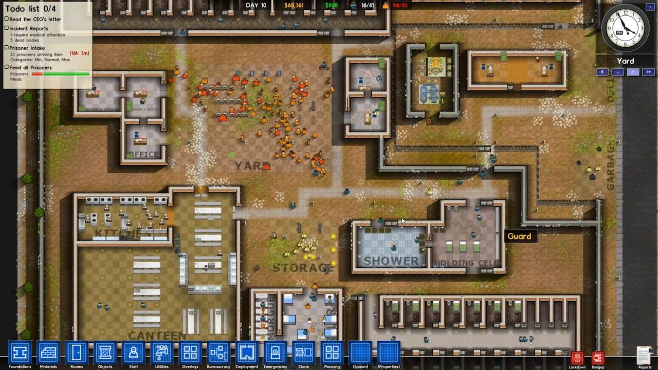 Prison architect alpha 15 pc windows gratiscleveland for Jail architect