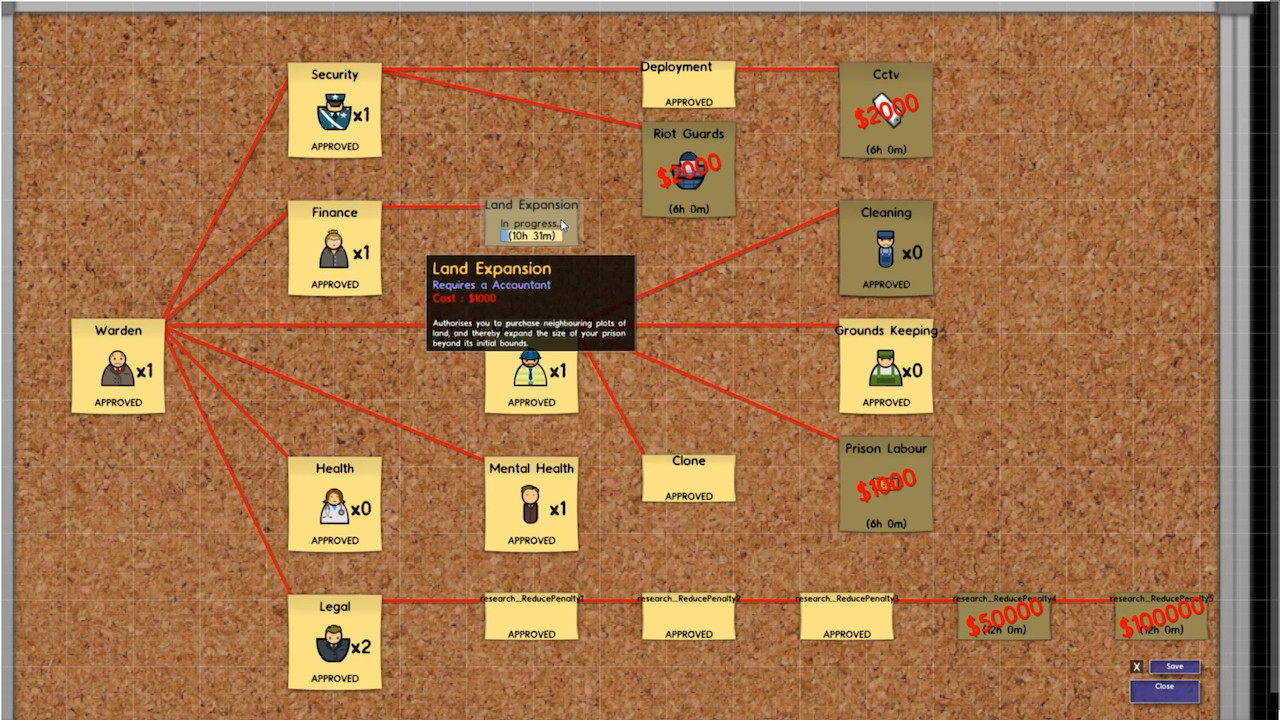 prison architect how to build rooms