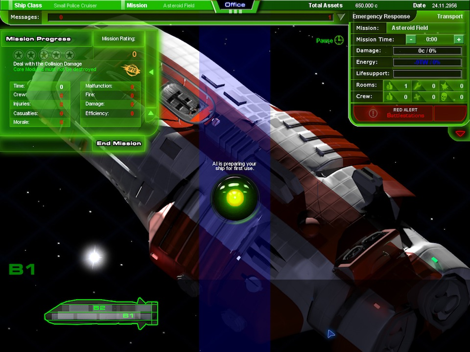 Spaceship Simulation Management Pixel Perfect Gaming - Spaceship design game