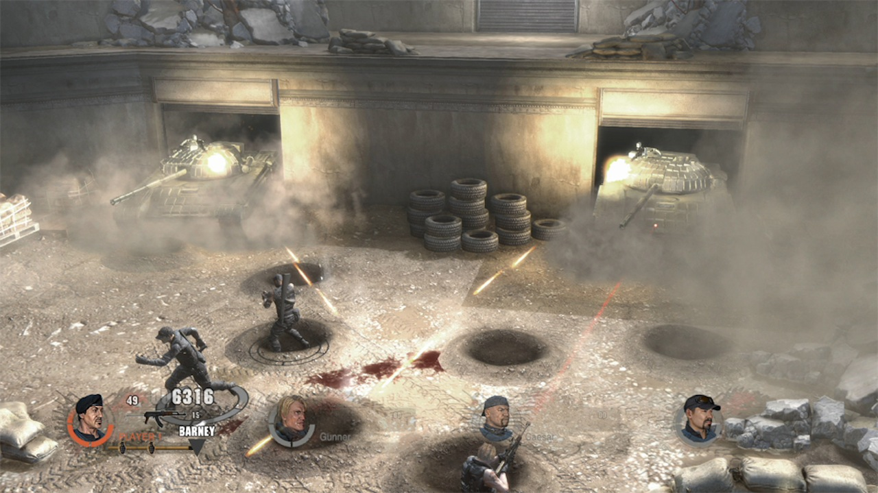 the expendables 2 – announced « pixel perfect gaming